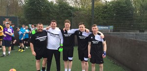 News Item: 5 a Side Tournament Raises Over £3300