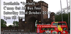 News Item: The C'mon Get Aff Bus Tour of Gorbals