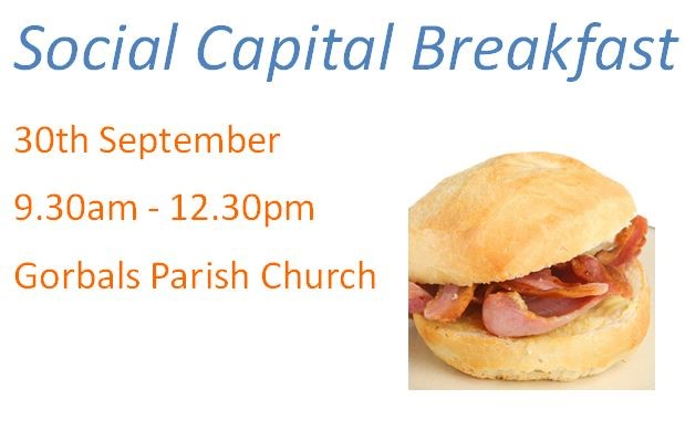 News Item: Social Capital Breakfast