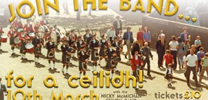 News Item: Join the Pipe Band for a Ceilidh