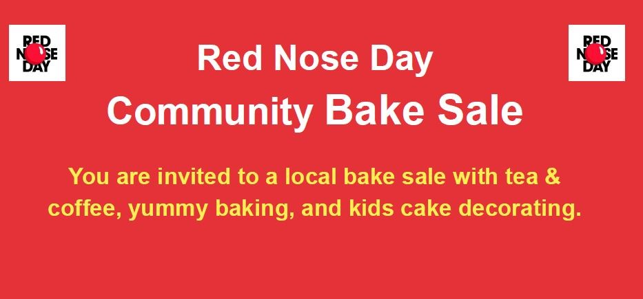 News Item: Community Bake Sale