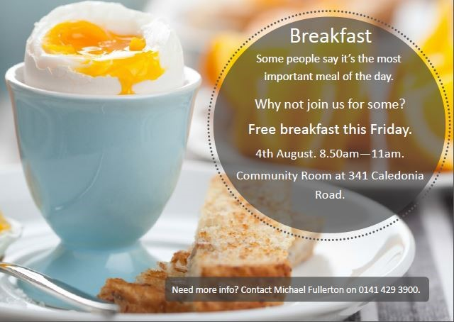 News Item: Free Community Breakfast
